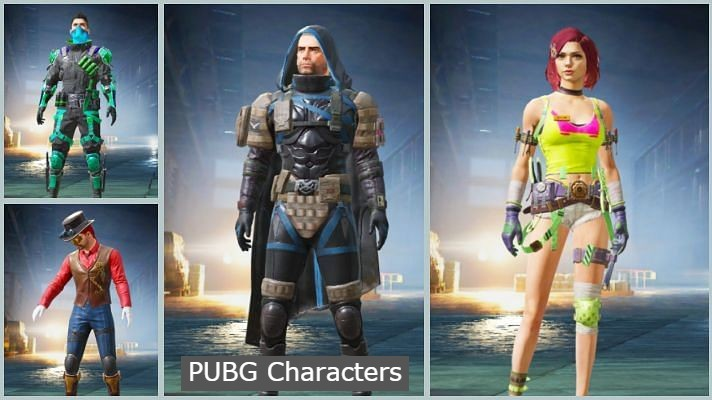 PUBG Characters Name List- 15 Best Character Names [2021]