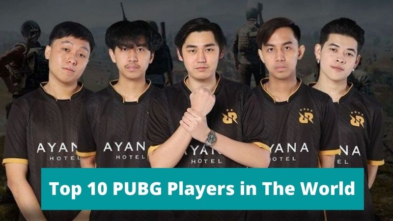 Top 10 PUBG Players in The World 2021 – Best PUBG Names [Updated]